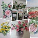 Выставка «Пейзажи и цветы»
